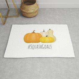 #SquashGoals Rug