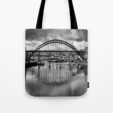 River Tyne Bridges Tote Bag