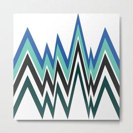 Pattern 1 Metal Print
