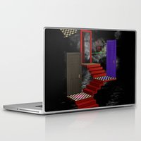 nightmare Laptop & iPad Skins featuring nightmare by Ancello