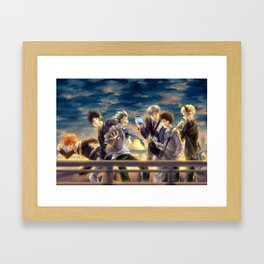 Haikyuu!! - 3rd Gym Squad Framed Art Print