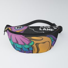 Where Are We Landing? Fanny Pack