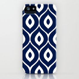 Leela Navy iPhone Case