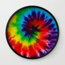 Tie-Dye Wall Clock