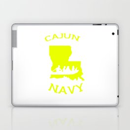 Cajun Navy Shirt Laptop & iPad Skin