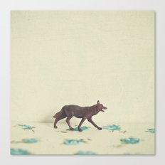 Wandering Wolf Canvas Print