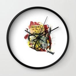 I Need Fun Wall Clock