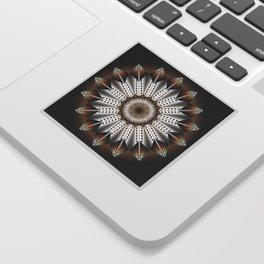 Feather Design Sticker