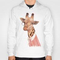 giraffe Hoodies featuring Giraffe by Animal Crew