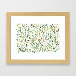 Plant Imps Framed Art Print
