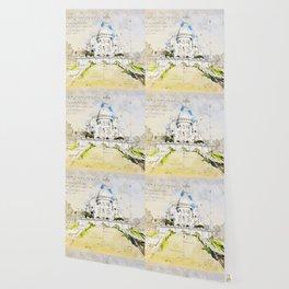 Sacré-Cœur de Montmartre, Basilica of the sacred Heart, Paris Wallpaper