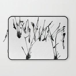 zebra ink splatter Laptop Sleeve