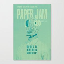 Paper Jam '15 I by Taylor Hale Canvas Print
