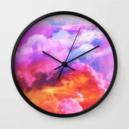 Alpha waves Wall Clock