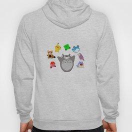 Video game Anime Character Rainbow Hoody