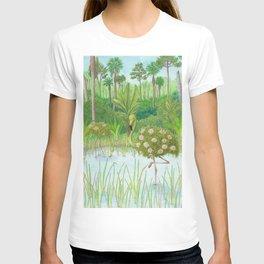 Birds of Paradise: Flamingo T-shirt