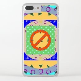 Fruit Machine 04 Clear iPhone Case