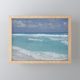 Carribean sea 3 Framed Mini Art Print