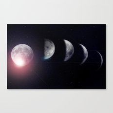 Moon (Variant) Canvas Print
