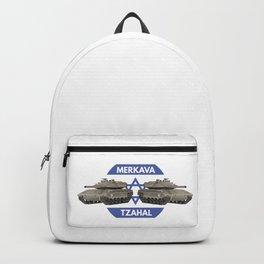 Israeli Tanks Merkava with Flag Backpack