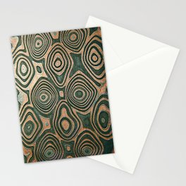 Metall texture, Damascus Stationery Cards