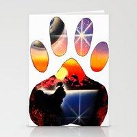 shih tzu Stationery Cards featuring Love My Shih Tzu by Sandy Malina Williamson