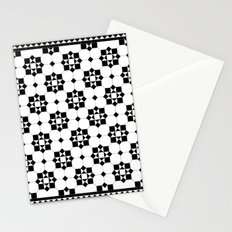 Victorian Floor Tile Pattern #3 Stationery Cards