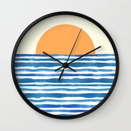 When The Sun Comes Up Wall Clock