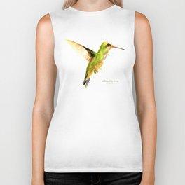 Hummingbird I Biker Tank