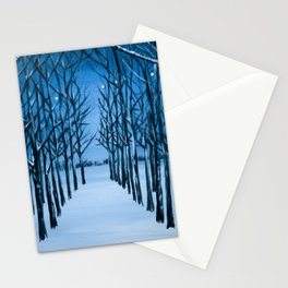 Snow Tree Cathedral Stationery Cards