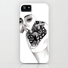 Robot iPhone (5, 5s) Slim Case