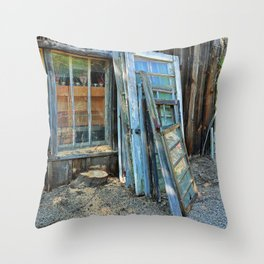Devoted Destitution- horizontal Throw Pillow