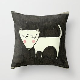 A Dog Called Mara.  Throw Pillow