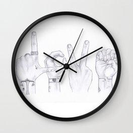 Love Wins. Always. (Larry Stylinson) Wall Clock