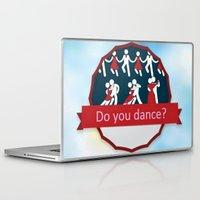 dancing Laptop & iPad Skins featuring Dancing by Pavlo Tereshin