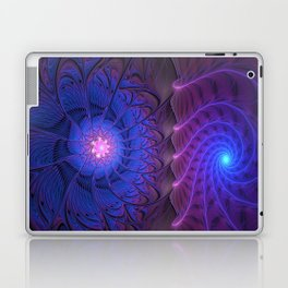 Come to me, Abstract Fractal Art Laptop & iPad Skin