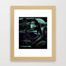 The Nightgaunt Framed Art Print