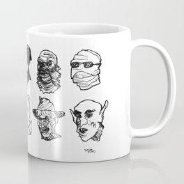 OH THE HORROR! Characters Coffee Mug