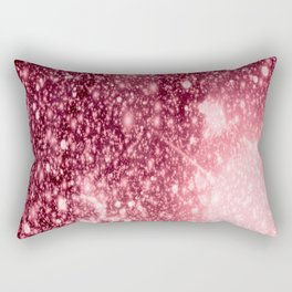 Pink Sparkle Galaxy Africa Rectangular Pillow