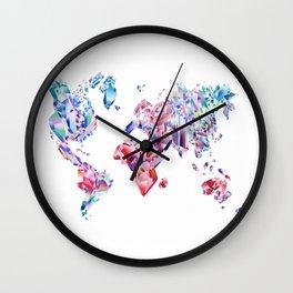 Crystal World Wall Clock