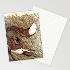 La Ruse du renard (The Sneaky Red Fox) Stationery Cards