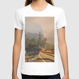 Scenic Mountainside Drive 1 T-shirt