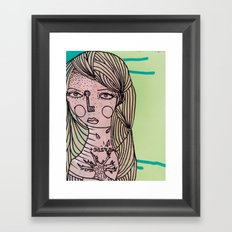 Alive Key Framed Art Print