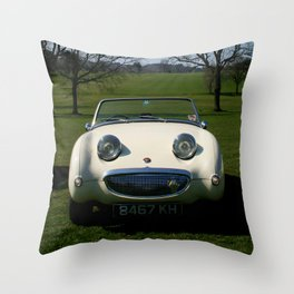 Frogeye in the Sunshine Throw Pillow