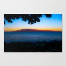 The island in the sun Canvas Print