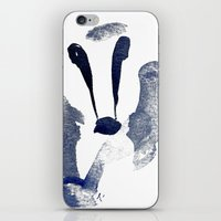 badger iPhone & iPod Skins featuring Badger by ramalamb