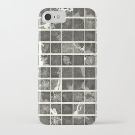 World Cities Maps iPhone Case