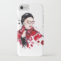 vogue iPhone & iPod Cases featuring VOGUE by CARLOS CASANOVA