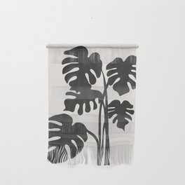 Monstera Line Wall Hanging