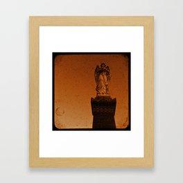 Angels Watch Framed Art Print